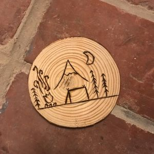 Other - Wood decor camping coaster (2).